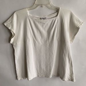 Vintage Christian Dior Seperates White Tee Size L